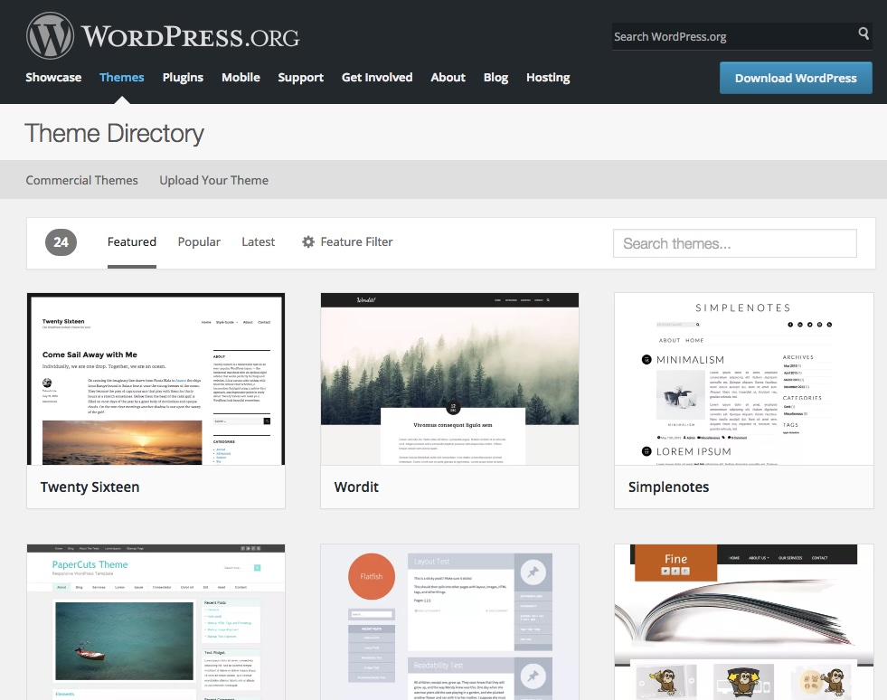 Screenshot-WordPress-Themes
